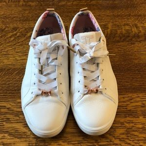 Ted Baker white sneakers